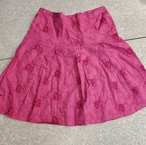 👸👗 Dolled Up by F.A.N.G. fuschia sequined skirt